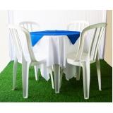 aluguel de mesa com 4 cadeiras preço Jardim Leonor