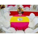 aluguel de mesa de festa preço Vila Cristina