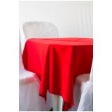 aluguel de mesa para festa a domicílio Tamboré -