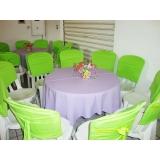 aluguel de mesas e cadeira Barueri