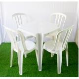 locação de mesa e cadeira