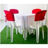 aluguel de mesas para casamento Centro