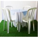 aluguel de mesas para festa Vila Cristina