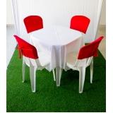 aluguel de mesas Jardim Maria Beatriz