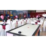 buffet infantil 150 pessoas preço Jardim Leonor