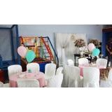 buffet infantil 150 pessoas Vila Cristina