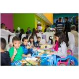 buffet infantil a domicílio valor Vila Cretti