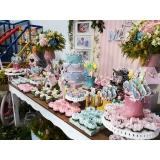 buffet infantil completo Tamboré -