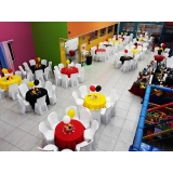 buffet infantil valor MUTINGA