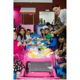 buffet para aniversário infantil preço Tamboré -
