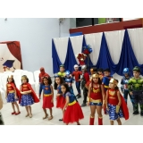 buffet para formatura infantil preço Vila Mercês