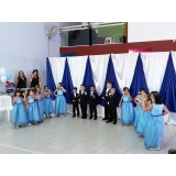 buffet para formatura infantil Vila Mercês