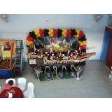 buffets para aniversário infantil Jardim das Belezas