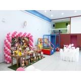 decoração e buffet infantil preço Parque Flórida
