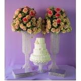 locação de arranjos prontos para casamento preço Jardim Ângela Maria