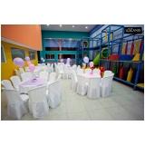 locação de espaço com buffet para aniversário Carapicuíba