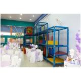 locação de espaço para festa de aniversário preço Tamboré -