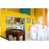 locação de espaço para festa de aniversário valor Vila Mercês