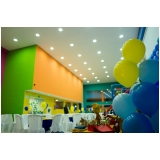 locação de espaço para festa de aniversário Jardim Leonor