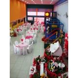 locação de espaço para festa infantil preço Tamboré -