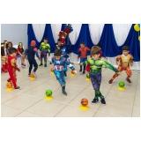 locação de espaço para formatura infantil valor Jardim Ângela Maria