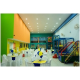 locação de espaço para formatura infantil Jardim Leonor