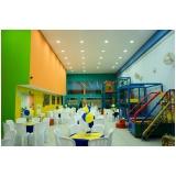 locação de espaço para formatura infantil