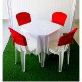 locação de mesa e cadeira preço Boa Vista