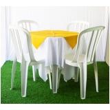 locação de mesas e cadeiras Jardim Ângela Maria