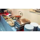 locação de pratos e talheres para casamento Parque Flórida