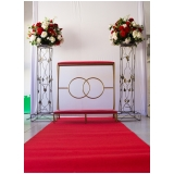 locação de tapete para decoração valor Jardim Leonor