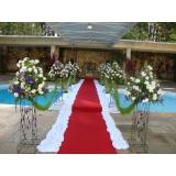 locação de tapete vermelho para casamento valor Vila Mercês
