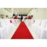 locação de tapete vermelho para casamento Carapicuíba
