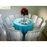 onde encontro aluguel de mesa para casamento Jardim Veloso