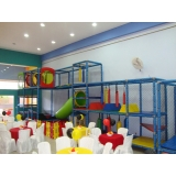 onde encontro buffet infantil domicílio Centro