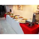 onde encontro buffet para almoço Vila Mercês