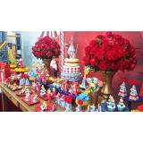 onde encontro decoração e buffet infantil Vila Quitaúna
