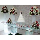 onde encontro locação de arranjos prontos para casamento Vila Municipal