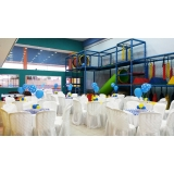 onde encontro locação de espaço para aniversário infantil Vila Mercês