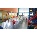 onde encontro locação de espaço para festa infantil Tamboré -
