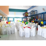 quanto custa buffet aniversário infantil Vila Municipal