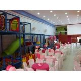 quanto custa buffet de aniversário infantil Tamboré -