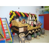 quanto custa buffet infantil completo Vila Cristina