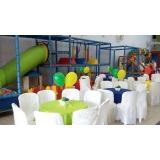 quanto custa buffet infantil Tamboré -