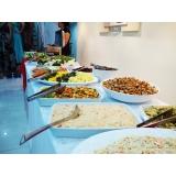 quanto custa buffet para almoço Vila Municipal