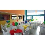 quanto custa buffet para aniversário infantil Jardim Leonor
