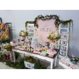quanto custa decoração e buffet infantil Vila Mercês