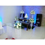 quanto custa locação de artigos para decoração casamento Vila Quitaúna