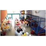quanto custa locação de espaço para festa infantil Barueri