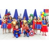 quanto custa locação de espaço para formatura infantil Parque Flórida